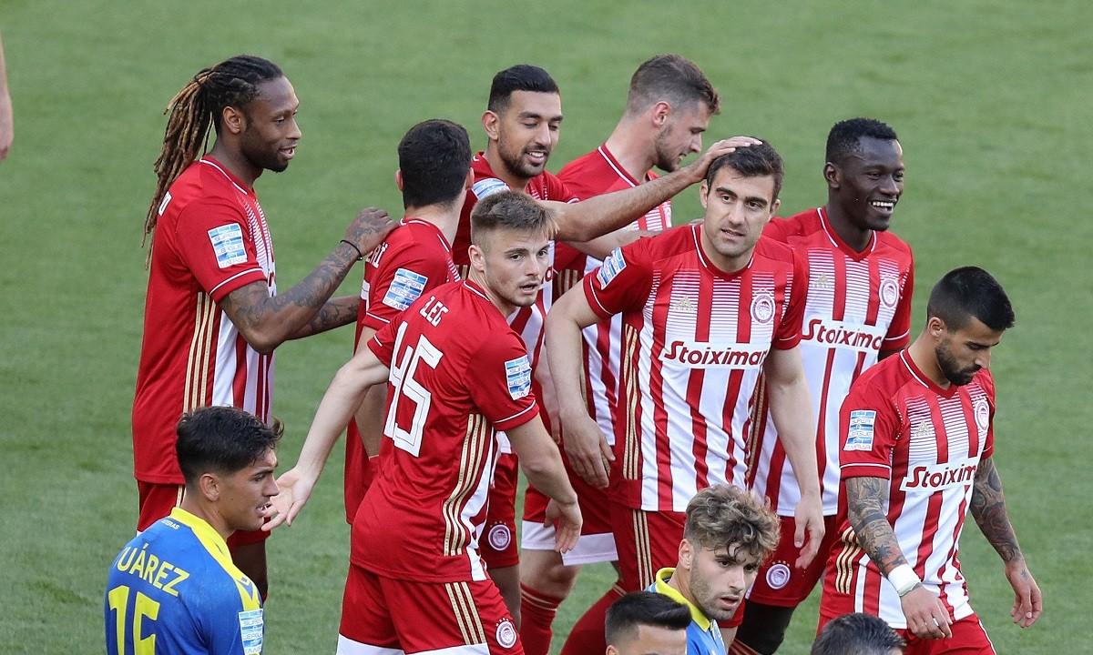 Ολυμπιακός-Αστέρας Τρίπολης 1-0: Άνετη νίκη με το πρώτο ερυθρόλευκο γκολ του Σωκράτη (vids)