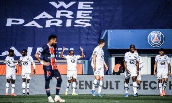 Παρί Σεν Ζερμέν - Λιλ 0-1: Διπλό τίτλου και χαμός στο φινάλε!