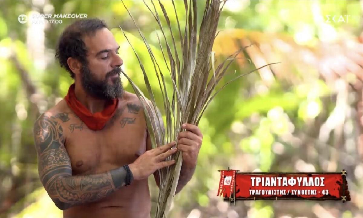 Survivor – Έπος: Ο Τριαντάφυλλος έφερε… πίσω τον Αλέξη Παππά – «Μεγάλωσε το  μαλλάκι του» (vid)   sportime.gr