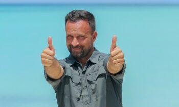 Survivor Λιανός: Ένας από τους βασικούς λόγους επιτυχίας του ριάλιτι επιβίωσης φέτος είναι ο Γιώργος Λιανός! Κοντά τα χέρια σας λοιπόν!