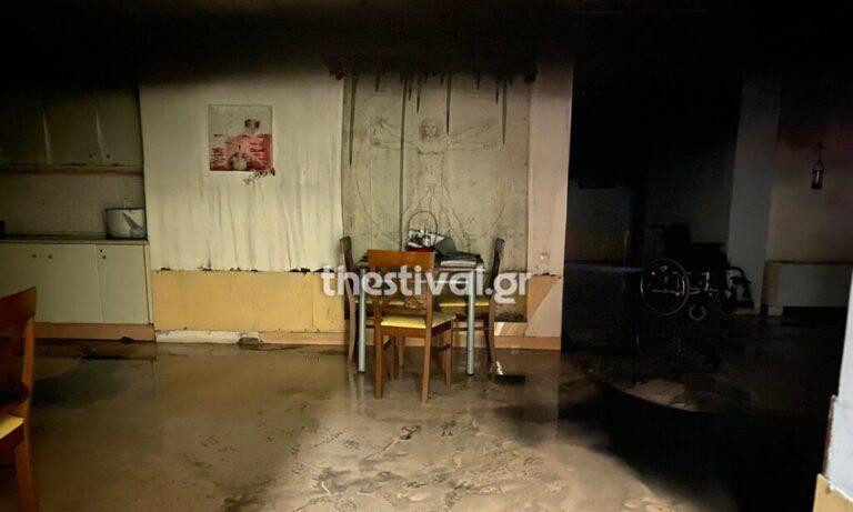 Θεσσαλονίκη: Η πυροσβεστική έσβησε φωτιά σε ίδρυμα με ανάπηρα παιδιά