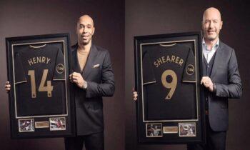 Premier League: Τιερί Ανρί και Άλαν Σίρερ οι πρώτοι παίκτες που μπαίνουν στο Hall of Fame