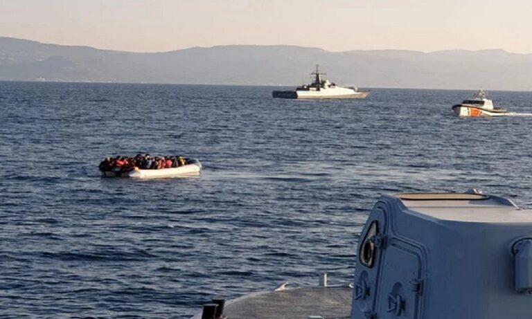 Λέσβος: Τουρκική ακταιωρός παρενόχλησε σκάφος του Λιμενικού στα ελληνικά χωρικά ύδατα! (vid+pics)