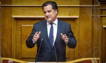 Γεωργιάδης: «Δεν δύναται το κράτος να δίνει σε όλους λεφτά»