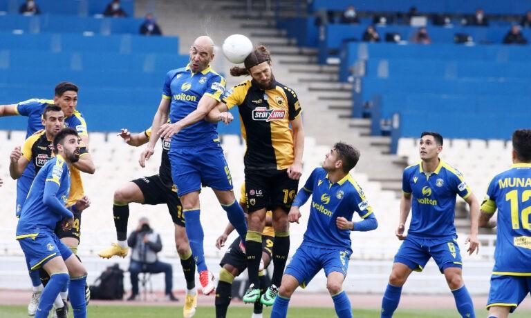 ΑΕΚ-Αστέρας Τρίπολης 3-1 (ΤΕΛΙΚΟ)