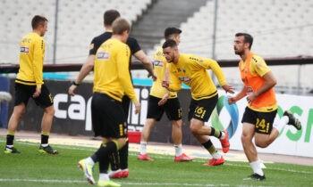 Το αυριανό ματς για την ΑΕΚ στη Θεσσαλονίκη κόντρα στον Αρη είναι κομβικό για την πορεία της στα πλέι οφ της Super League.