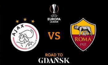Άγιαξ-Ρόμα: Παρακολουθήστε live από το Sportime την αναμέτρηση για την προημιτελική φάση του Europa League.