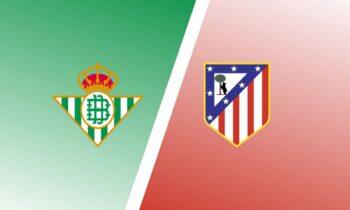 Μπέτις-Ατλέτικο Μαδρίτης: Παρακολουθήστε LIVE από το Sportime την αναμέτρηση για την 30ή αγωνιστική της Primera Division.