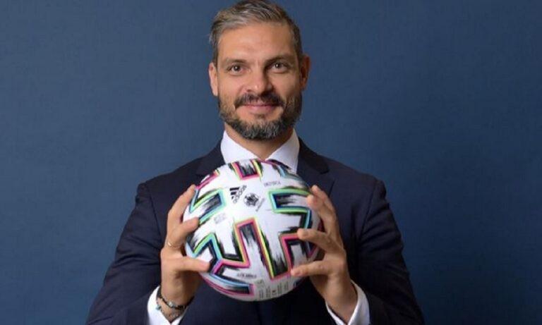 Χαριστέας: «Ως πρεσβευτής του UEFA EURO 2020, δηλώνω αντίθετος με τη European Super League»