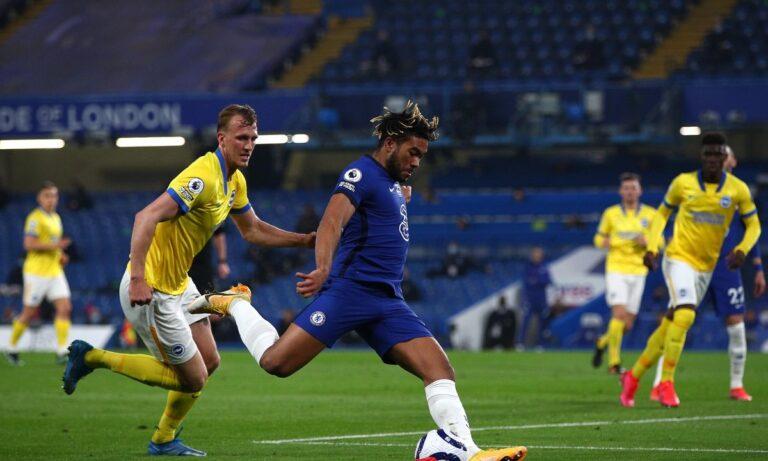 Τσέλσι – Μπράιτον 0-0: Έχασε την ευκαιρία να «κλειδώσει» το Champions League