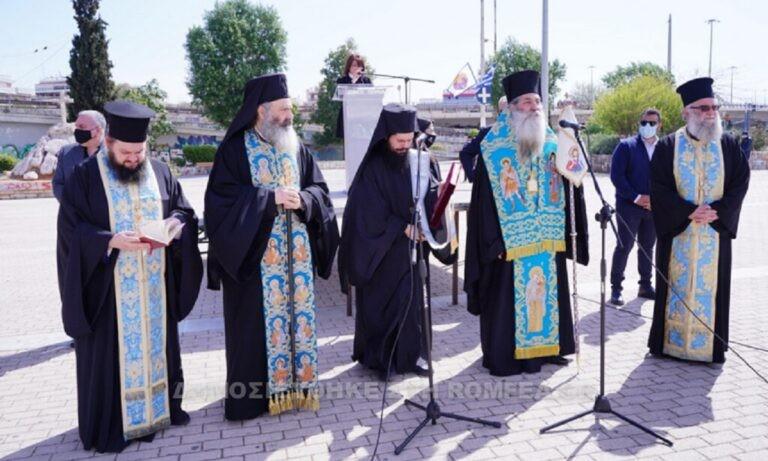 Γ. Καραϊσκάκης: Επιμνημόσυνη δέηση για τον ήρωα της Επανάστασης από τον Μητροπολίτη Σεραφείμ