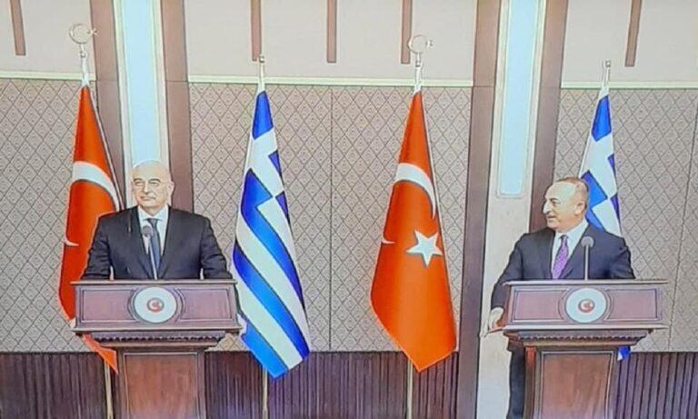 Ελληνοτουρκικά: Ο Νίκος Δένδιας προκάλεσε παράκρουση στην Τουρκία – Δείτε τι έγινε μόλις μιλούσε