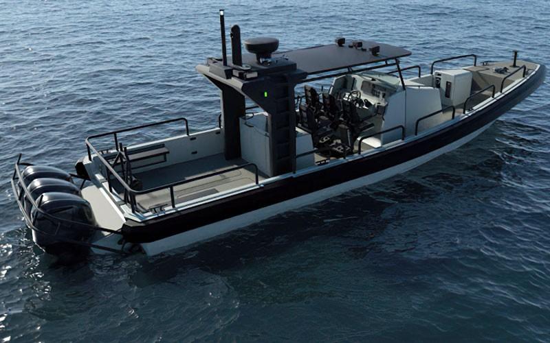 Ένοπλες δυνάμεις: Με σκάφος που «έκλεψε την παράσταση» εμφανίστηκε στα νερά του Αιγαίου ο αρχηγός ΓΕΕΘΑ Κωνσταντίνος Φλώρος.