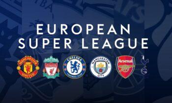 Η επικείμενη δημιουργία της European Super League από ένα μπλοκ ομάδων, έχει φέρει τεράστιες αντιδράσεις σε διάφορα επίπεδα.