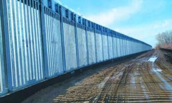 Ελληνοτουρκικά: Έτσι συνεχίζει να χτίζεται ο νέος φράχτης στον Έβρο, μήκους 27 χιλιομέτρων