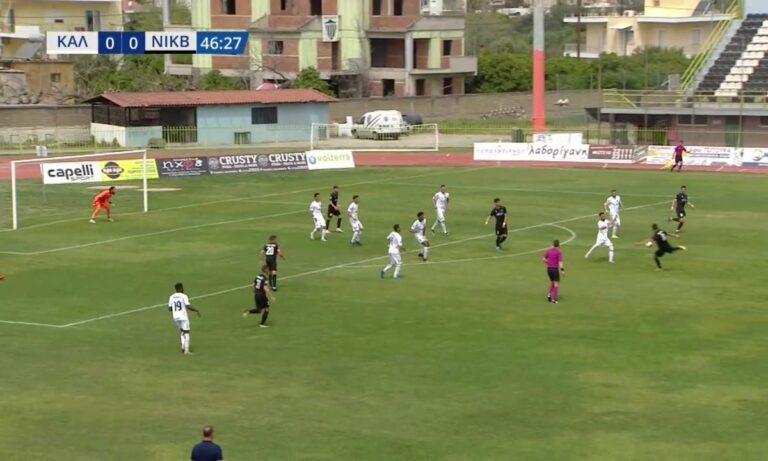 Καλαμάτα – Νίκη Βόλου 0-0: Ντέρμπι συμβιβασμού με ελάχιστες καλές στιγμές (vid)