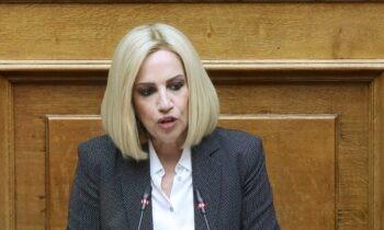 Γεννηματά: Σε μια σειρά ζητημάτων αναφέρθηκε σε τηλεοπτική συνέντευξη που παραχώρησε την Πέμπτη στην ΕΡΤ η πρόεδρος του ΚΙΝΑΛ.
