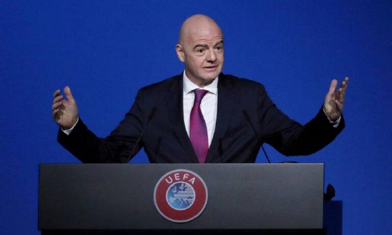 Ινφαντίνο: «Καταδικάζουμε την European Super League, οι ομάδες αυτές θα ζήσουν με την επιλογή τους»