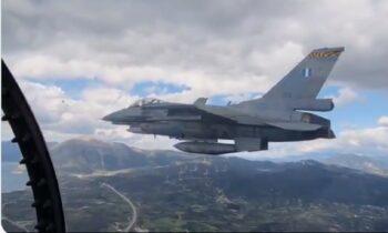 Ελληνικά F-16: Συνοδεύουν ισπανικό F-18 πάνω από τη γέφυρά του Ρίο και ρίχνουν το διαδίκτυο σε Ιταλία και Ισπανία με πλάνα από το μαχητικό.
