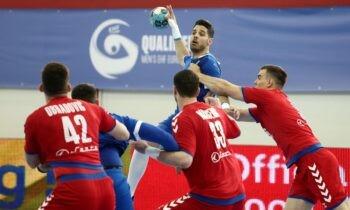 Ελλάδα - Σερβία 25-27: Υπερπροσπάθεια κατέβαλε η Εθνική ομάδα χάντμπολ στο ΔΑΚ Κορυδαλλού απέναντι στη Σερβία αλλά ηττήθηκε με 27-25