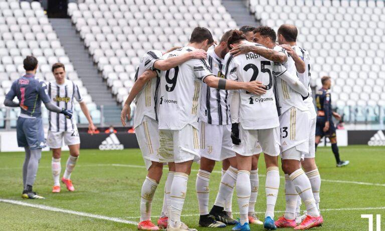 Γιουβέντους – Τζένοα 3-1: Εδραιώνεται στην τετράδα