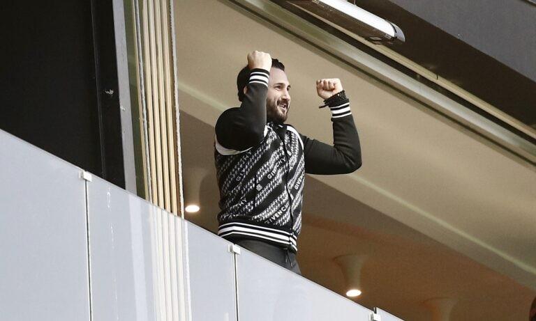 Άρης: «Ξέσπασε» ο Καρυπίδης στα γκολ – Η αγκαλιά του με τον Μάνο (pics)