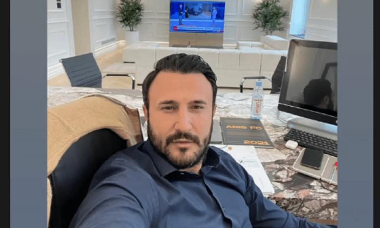 Καρυπίδης: Η ανάρτηση από τα νέα εντυπωσιακά γραφεία του στην Αθήνα (pics)