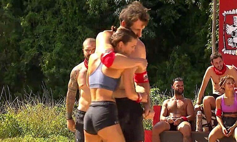 Survivor 3/4: Κάτια – Κοψιδάς μαζί! Το φιλί και οι πολλά υποσχόμενες αναρτήσεις (vid-pic)