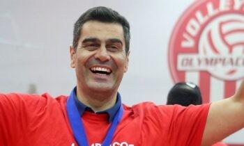 Ολυμπιακός: Την ανανέωση της συνεργασίας του με τον Δημήτρη Καζάζη γνωστοποίησε ο σύλλογος το απόγευμα της Τετάρτης (21/4).