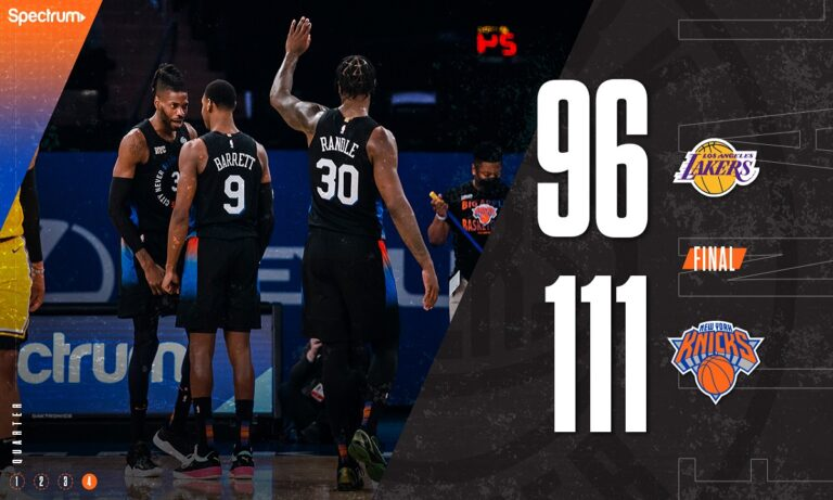 NBA: Μεγάλη νίκη για τους Νικς κόντρα στους Λέικερς (vids)