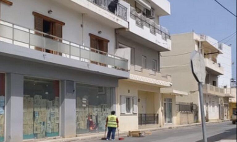 Κρήτη: Ρίχνει σκουπίδια από το μπαλκόνι – Τι της είπε υπάλληλος καθαριότητας (vid)
