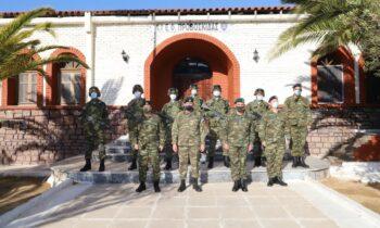 Ένοπλες δυνάμεις: Ισχυρό μήνυμα σε ένα από τα πιο ταλαιπωρημένα νησιά του Αιγαίου, τη Λέσβο, έστειλε ο Α/ΓΕΕΘΑ, Κωνσταντίνος Φλώρος.