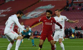 Λίβερπουλ-Ρεάλ Μαδρίτης 0-0: Χάρη στο υπέρ της 3-1 στο πρώτο ματς, η ισπανική ομάδα προκρίθηκε στους «4» του UEFA Champions League.