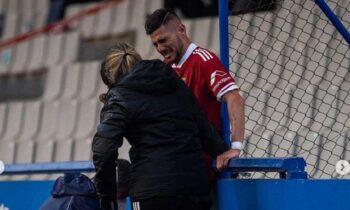 Συγκινεί σε μήνυμά του ο Κρίστιαν Λόπεθ, με αφορμή τον τραυματισμό που υπέστη ο οποίος μπορεί να του στερήσει το υπόλοιπο της σεζόν.