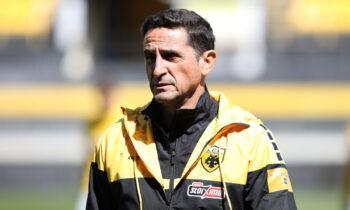 Ο Μανόλο Χιμένεθ έχει μείνει ικανοποιημένος μετά το χθεσινό 1-3 στο Χαριλάου κόντρα στον Αρη, σε ακόμη μία νίκη της Ενωσης στην έδρα των «κίτρινων» της Θεσσαλονίκης