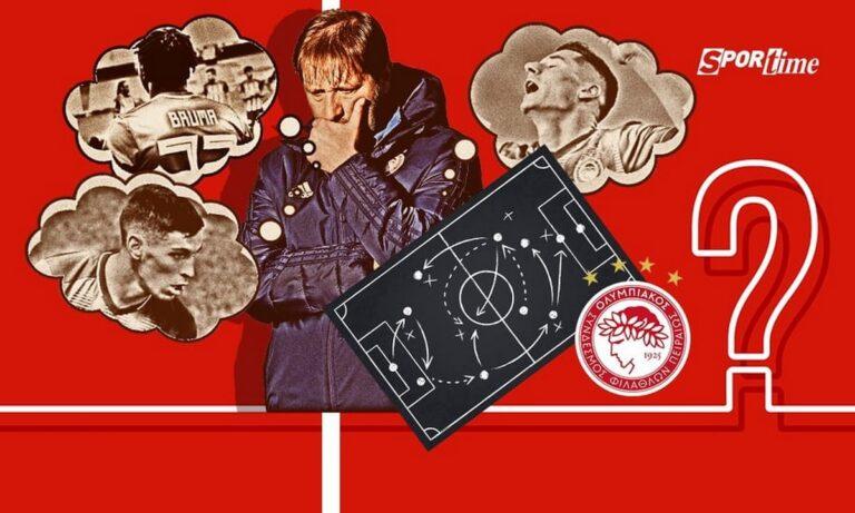 Ολυμπιακός: Ραντζέλοβιτς, Μπρούμα, Βρουσάι – Ποιον αδικεί ο Πέδρο Μαρτίνς;