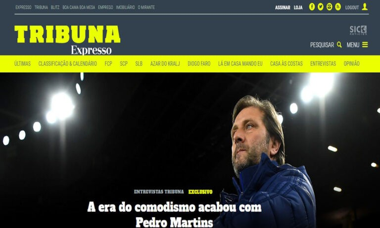 Μαρτίνς: Το Sportime εξασφάλισε όλη τη συνέντευξή του στην Πορτογαλία!