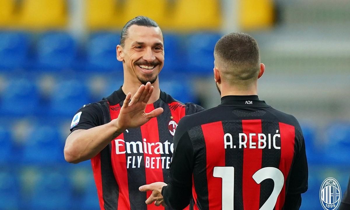 Serie A: Νίκη για τη Μίλαν παρά την αποβολή του Ζλάταν (vid)