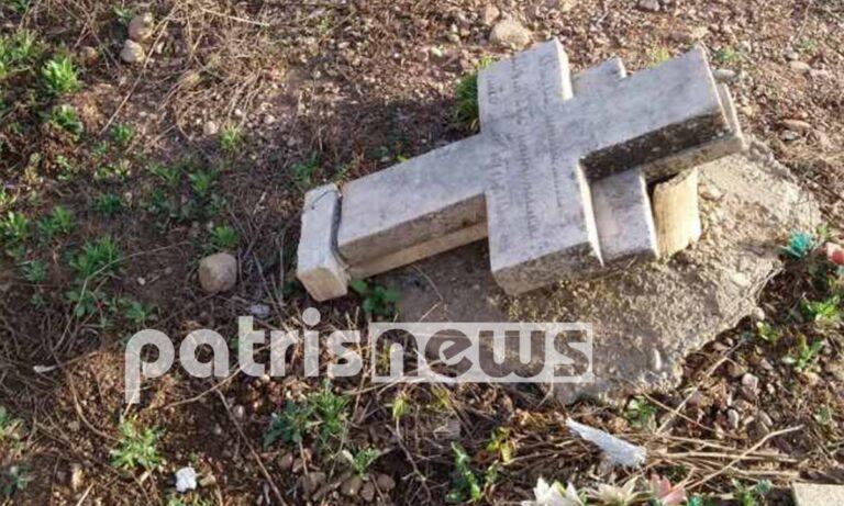 Ο ιερέας και ένας κάτοικος του Φλόκα δεν μπορούσαν να πιστέψουν αυτό, που αντίκρισαν στο νεκροταφείο του χωριού, που είχε δεχθεί επίθεση