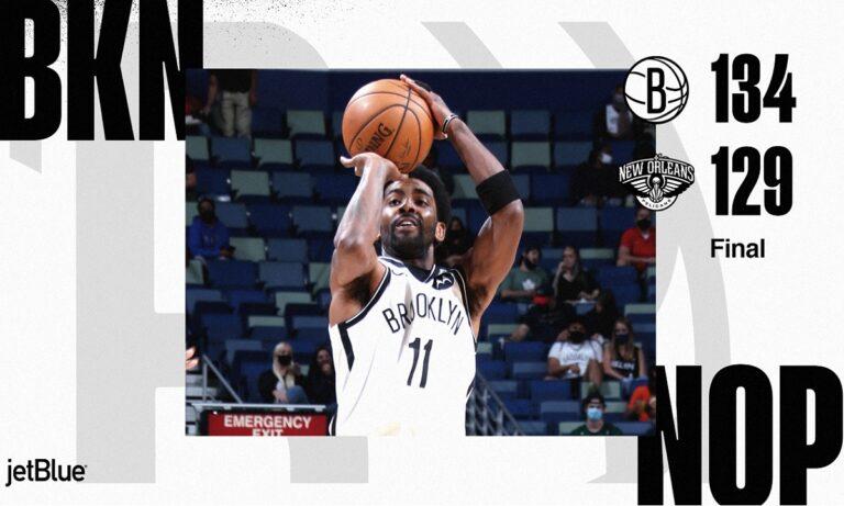NBA Αποτελέσματα: Οδηγεί τους Μπρούκλιν Νετς ο Ίρβινγκ (vids)