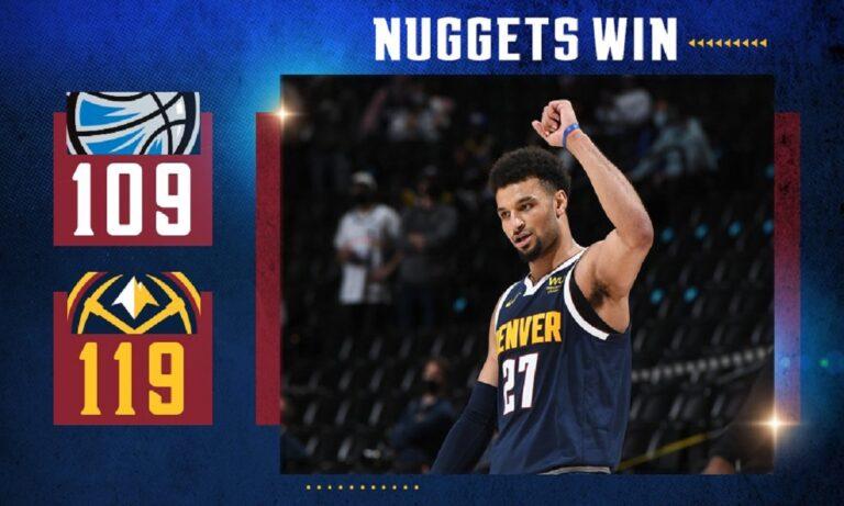 NBA Αποτελέσματα: Άνετα οι Νάγκετς, ήττα ξανά για τους Γουόριορς (vid)