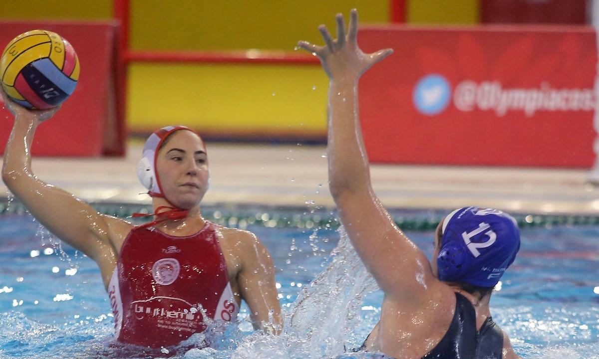 Α1 Γυναικών πόλο: Εύκολα ο Ολυμπιακός και η Βουλιαγμένη – Σκόραρε η τερματοφύλακας Διαμαντοπούλου