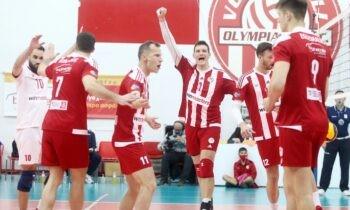 Βόλεϊ: Ο Ολυμπιακός είναι και μαθηματικά πρωταθλητής Ελλάδος στο βόλεϊ ανδρών για 30ή φορά στην ιστορία του.
