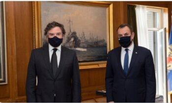 Φρεγάτες: Τα... ρέστα τους παίζουν οι Βρετανοί για τις Type 31 - Ήρθε και ο Βρετανός υπουργός Εξοπλισμών στην Ελλάδα.