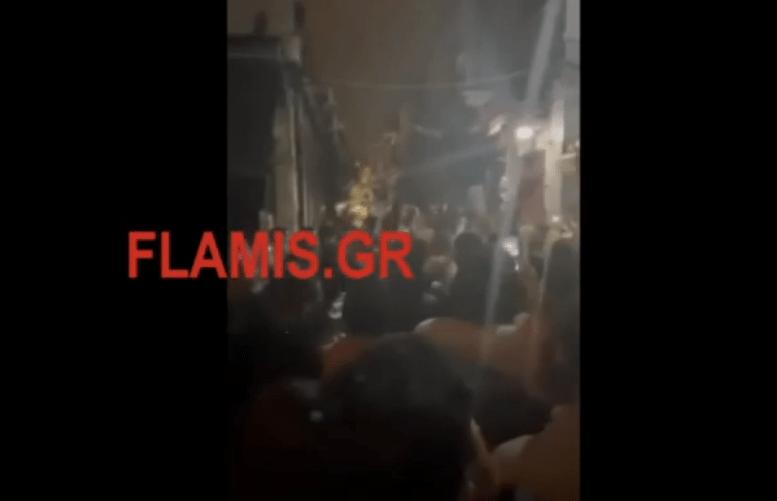 Πάτρα: Κορονοπάρτι, δίπλα από το αστυνομικό τμήμα! –  «Ούτε στο καρναβάλι τόσος κόσμος»
