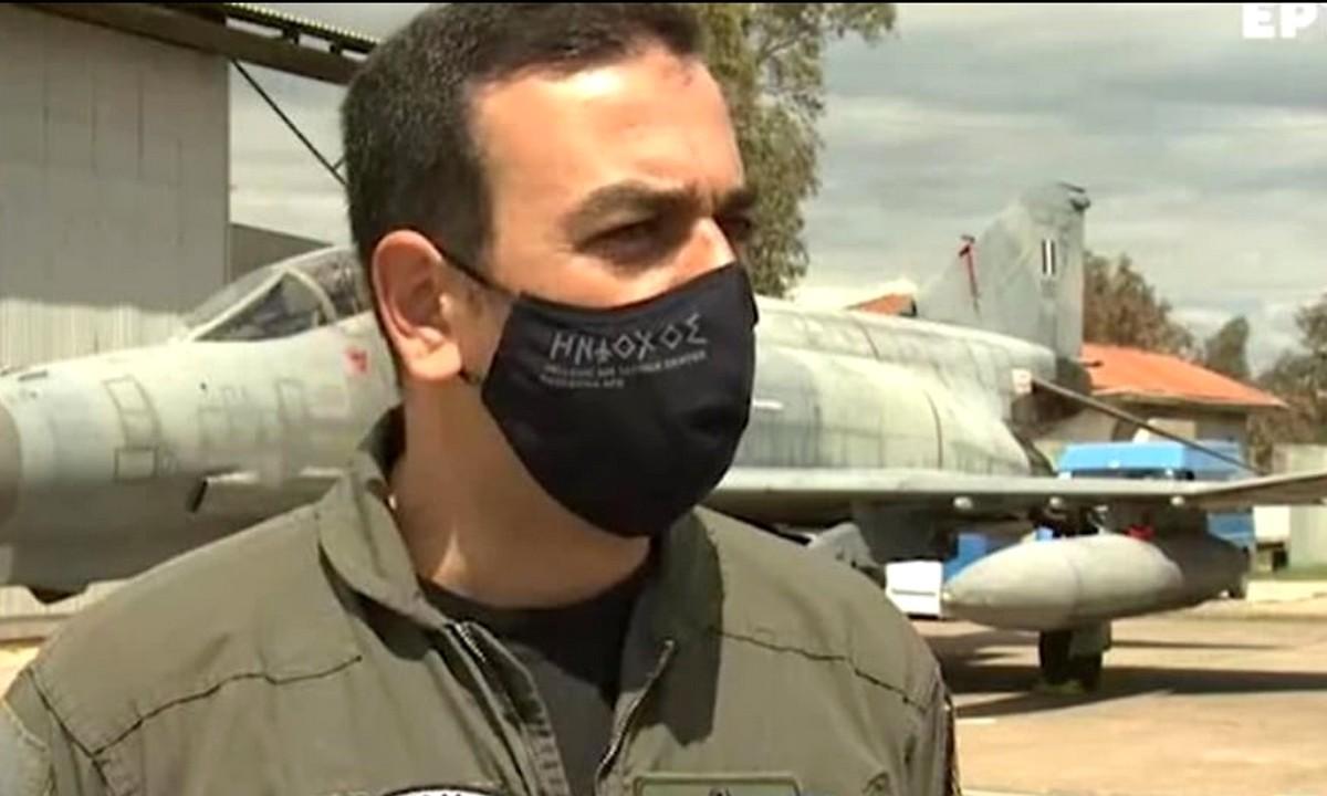 Αναστάσιος Ανδρονικάκης: Ο καλύτερος πιλότος στο NATO είναι Έλληνας και Κρητικός! (vid)