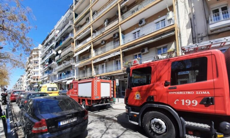 Θεσσαλονίκη: Έκρηξη σε διαμέρισμα στο κέντρο της πόλης (pics & video)