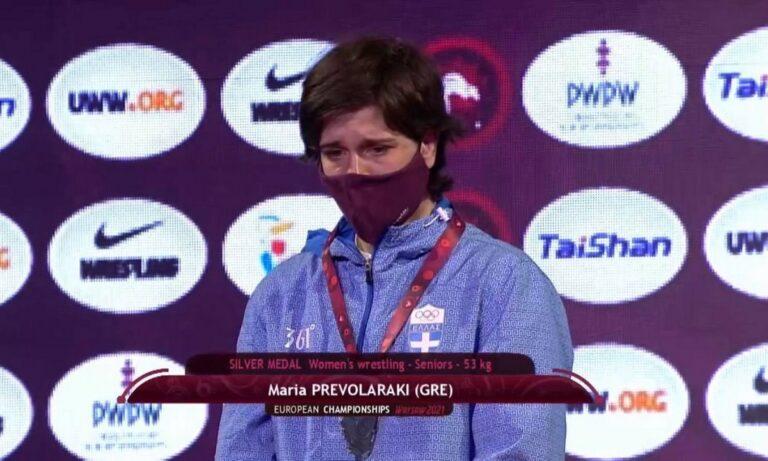 Πάλη: Ασημένια στο ευρωπαϊκό πρωτάθλημα η Πρεβολαράκη!