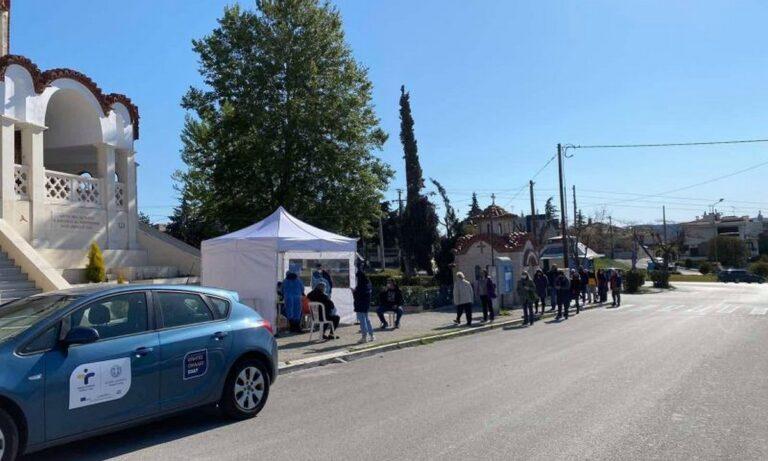 Οι κινητές μονάδες του ΕΟΔΥ θα πραγματοποιούν και σήμερα Σάββατο δωρεάν rapid tests για τους πολίτες σε πολλά σημεία της Ελλάδας.