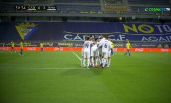 Κάντιθ - Ρεάλ Μαδρίτης 0-3: Πάτησε κορυφή η «Βασίλισσα»